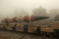 India successfully test-fired a long range, intercontinental surface-to-surface, nuclear-capable ballistic missile called the Agni-V on Monday, the state run All India Radio announced.
