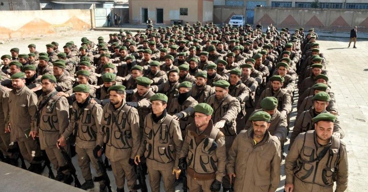 Syrian police (IHA Photo)