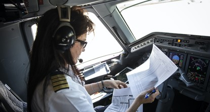 Female rescue pilot flies to save lives