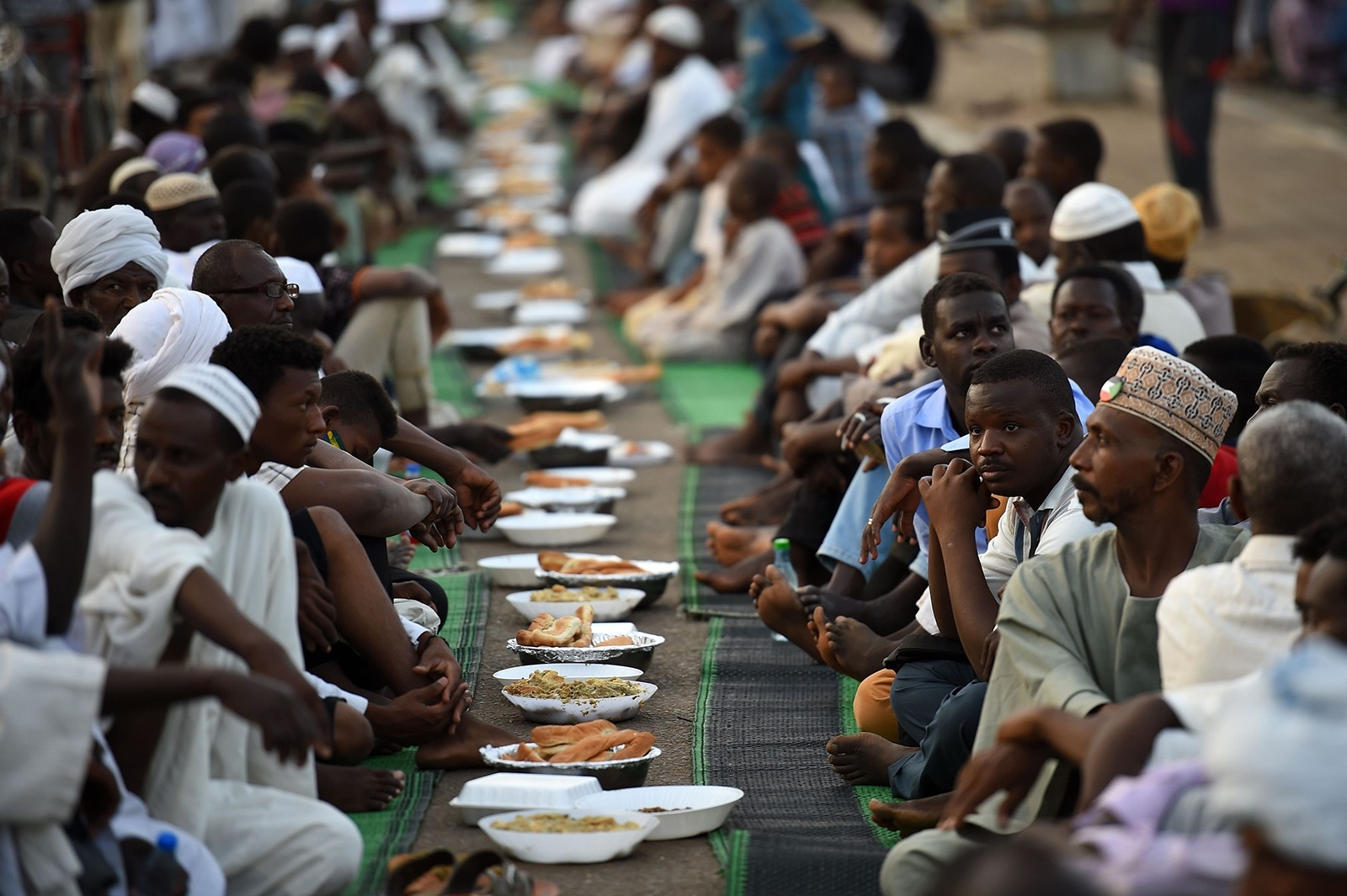 Iftar, a festive evening meal during holy month of Ramadan