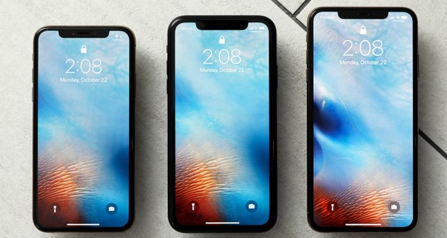 This Oct. 22, 2018, file photo shows the iPhone XS, from left, iPhone XR, and the iPhone XS Max in New York. (AP Photo)