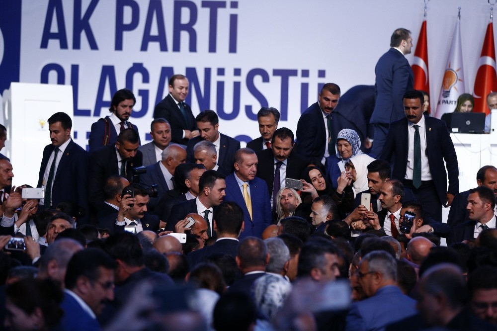 The AK Party selected President Recep Tayyip Erdou011fan on May 21 as its chief after a nearly three-year break.