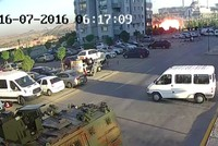 New footage shows putschists bombing presidential complex