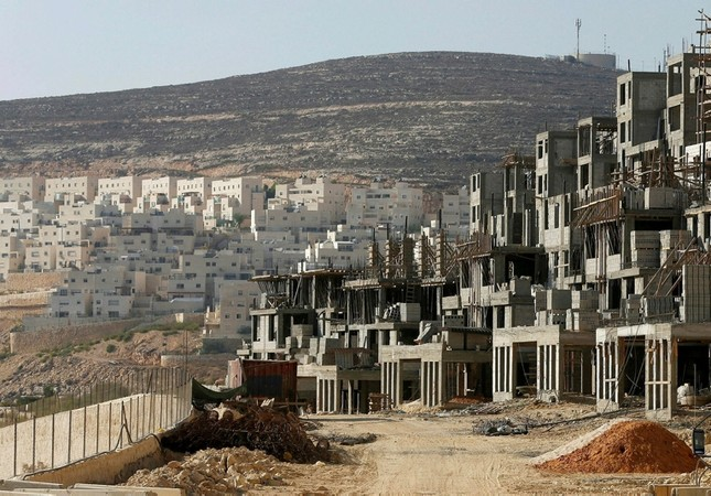 Illegal settlements built by the apartheid state Israel File photo