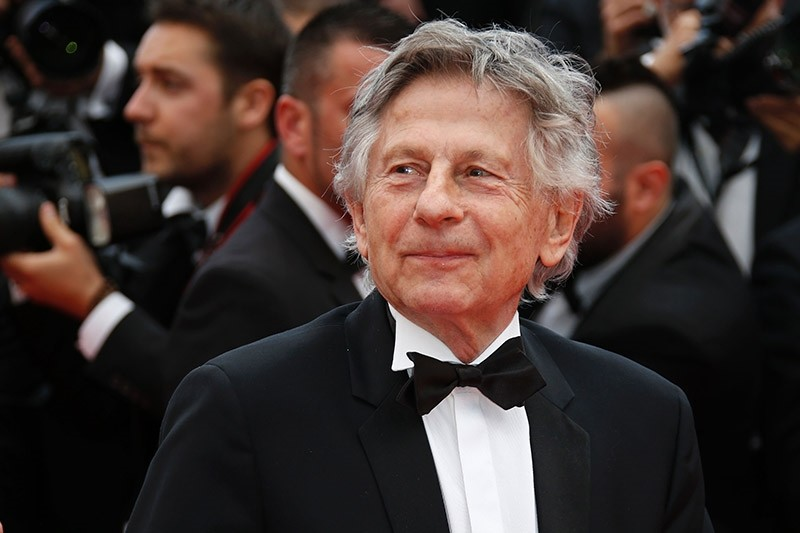 This file photo taken on May 17, 2014 shows French director Roman Polanski posing as he arrives for the screening of the film ,Saint-Laurent, at the 67th edition of the Cannes Film Festival in Cannes, southern France. (AFP Photo)