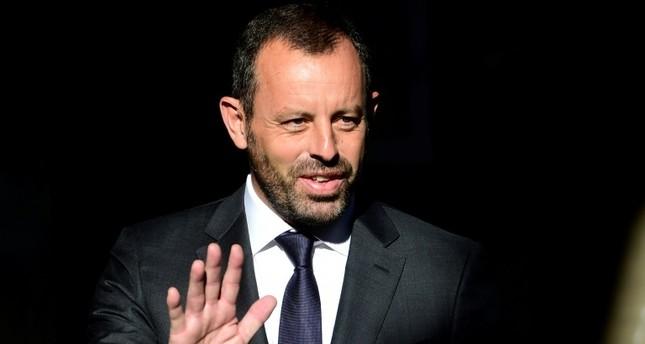 رئيس نادي برشلونة السابق السابق ساندرو روسل