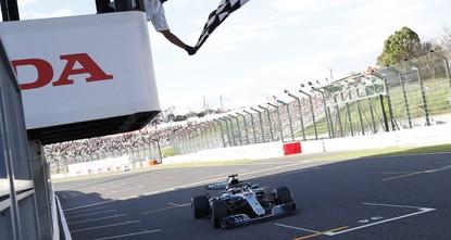 Hamilton aiming for win at typhoon-threatened Japanese GP