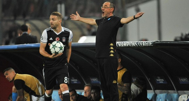 As Napoli's defense crumbles, Beşiktaş goes for the win in UEFA Champions League