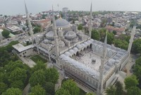 Iconic Blue Mosque undergoing extensive restoration