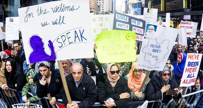 Muslims, Christians, Jews voice unity at NYC rally