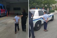 7-year-old boy handcuffed as part of standard protocol, US school district says