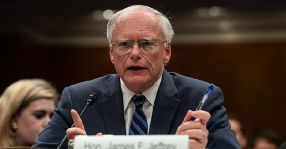 James Jeffrey testifies before the State, Foreign Operations and Related Programs Subcommittee on October 23, 2019. (AFP Photo)