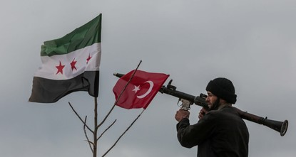 pOperation Olive Branch, which was launched by the Turkish Armed Forces (TSK) in Syria's northwestern Afrin province on Jan. 20, continues with the objective of eliminating People's Protection...