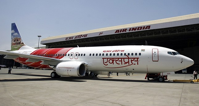 A new Air India Express Boeing 737-800 aircraft is displayed at Mumbai airport in this May 24, 2007 file photo (Reuters Photo)