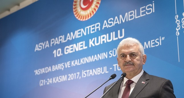 Prime Minister Yıldırım said that Turkey took over the role of the rotating presidency of the APA from Cambodia since it is a country trying to take an active role in international organizations and global platforms.