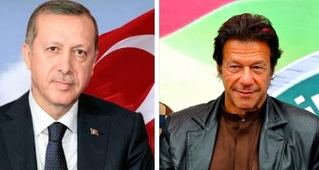 أردوغان يهنئ عمران خان بالفوز في الانتخابات البرلمانية الباكستانية