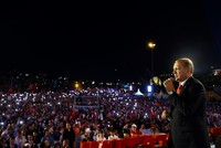 On July 15, the Turkish nation showed its biggest resistance to defend democracy, Erdoğan says