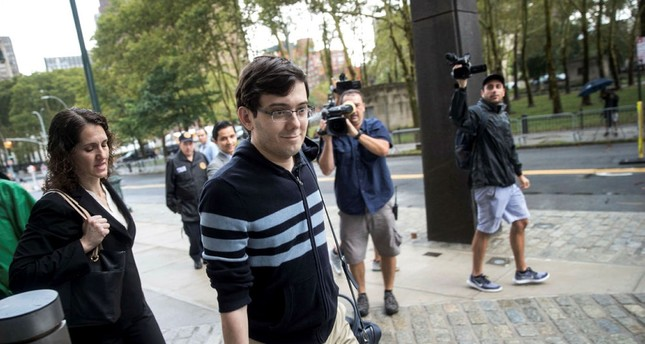 Former pharmaceutical executive Martin Shkreli arrives at the U.S. District Court for the Eastern District of New York, August 4, 2017 in the Brooklyn borough of New York City. (AFP Photo)
