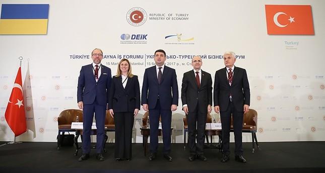 تركيا وأوكرانيا ترغبان في رفع حجم التبادل التجاري بينهما إلى 20 مليار دولار