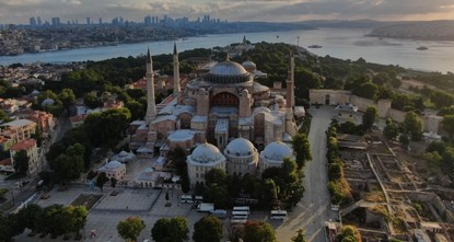 عبد الله غل وزعماء أحزاب تركية يهنئون بفتح آيا صوفيا للعبادة