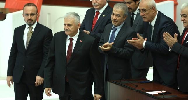 البرلمان التركي يختار بن علي يلدريم رئيساً له بأغلبية 335 صوتاً