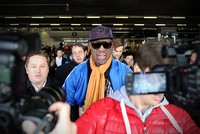 Flamboyant former NBA star Dennis Rodman was headed for North Korea Tuesday, with the heavily-tattooed former player apparently set for another round of his controversial