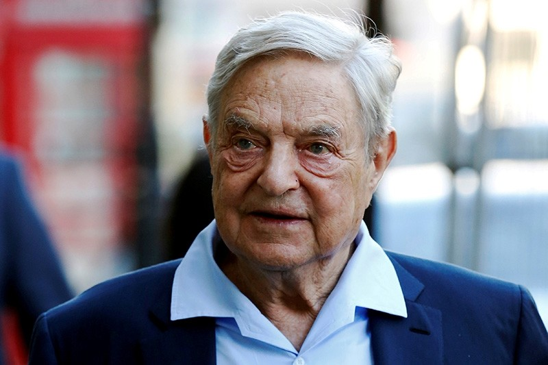 Business magnate George Soros arrives to speak at the Open Russia Club in London, Britain June 20, 2016. (Reuters Photo)