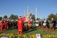 Turkish president Recep Tayyip Erdoğan marked the 564th anniversary of Istanbul's conquest by an Ottoman sultan Sunday.