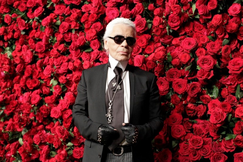 German fashion designer Karl Lagerfeld attends the Museum of Modern Art's fourth annual Film Benefit in New York Nov. 15, 2011. (Reuters Photo)