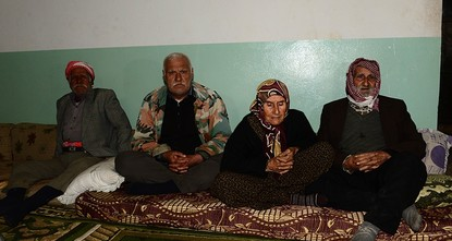 pFour elderly villagers, including a Kurdish couple, who were recently rescued by Turkish soldiers in northwestern Syria, narrated their ordeal to Anadolu Agency on Saturday./p