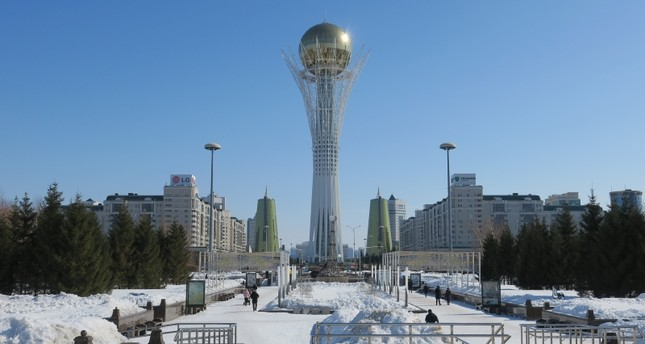 The Bayterek Tower in Astana. AA Photo