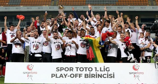 Gazişehir Gaziantep wins playoff, storms into Süper Lig