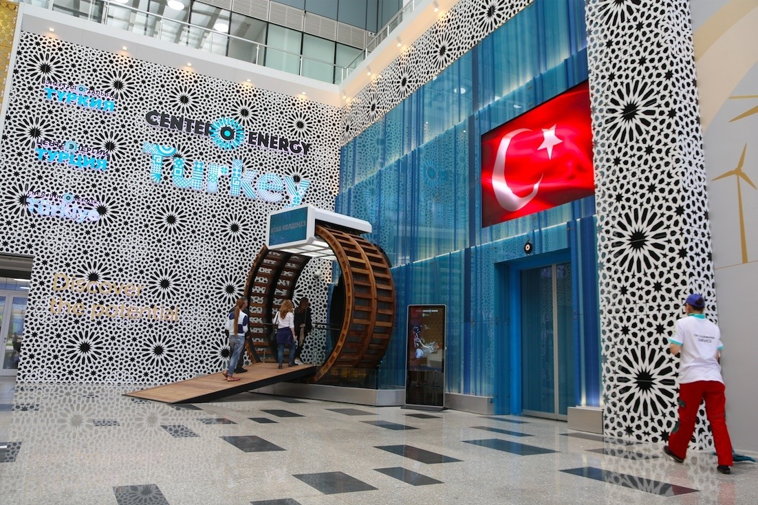 Turkey prepares to showcase its projects and acgievements at the Expo 2017 Fair to kick off June 10 in Kazakhstanu2019s capital Astana.