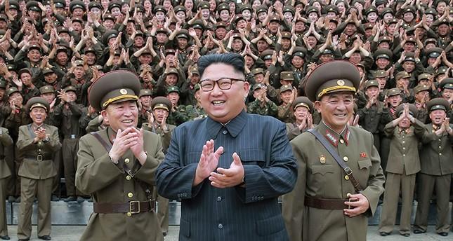(Korean Central News Agency/Korea News Service via AP)