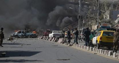 انفجار في العاصمة الأفغانية كابول يوقع 29 شخصا ما بين قتيل وجريح