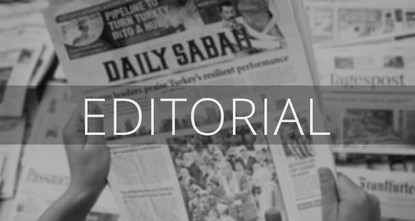 European Parliament President Antonio Tajani's decision to ban the distribution of our newspaper, Daily Sabah, to members of the European Parliament is perplexing to say the least. His press...