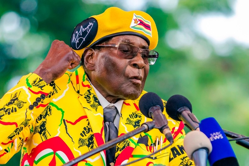 Robert Mugabe (AFP File Photo)