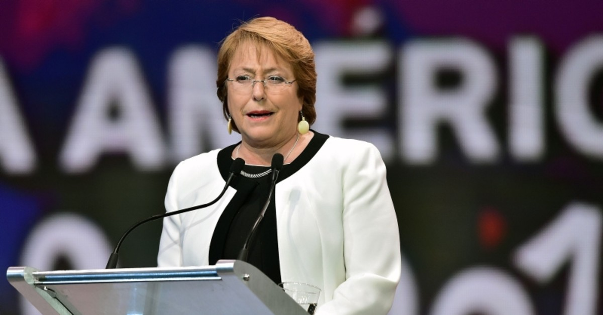 U.N. human rights chief Michelle Bachelet (AFP File Photo)