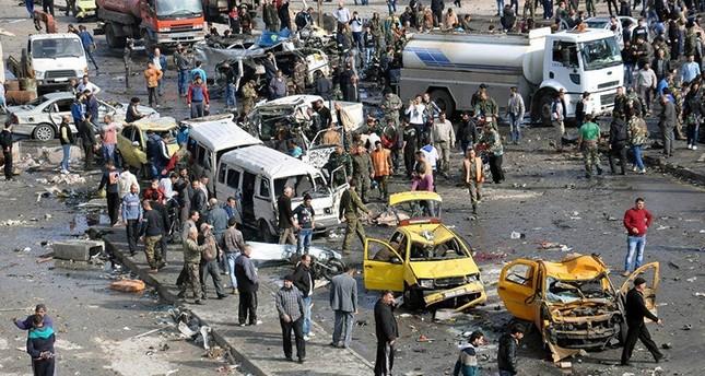 قتلى وعشرات الجرحى في تفجير مزدوج بمنطقة السيدة زينب جنوب دمشق