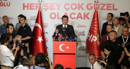 CHP's Imamoglu wins in 28 districts in Istanbul rerun
