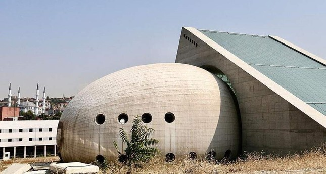 The egg-shaped Presidential Symphony Orchestra building boosts acoustics inside the structure. AA Photo
