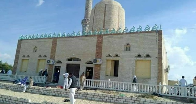 54 killed, 75 injured in bomb attack at Egyptian mosque