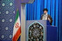 Iran's Khamenei defends military amid month of turmoil