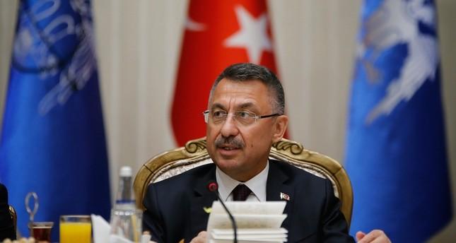 فؤاد أوقطاي: قصف مكتب الأناضول لن يثني الوكالة عن عملها ولن يضعف عزيمة تركيا