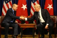 President Erdoğan, US counterpart Trump discuss developments in Syria