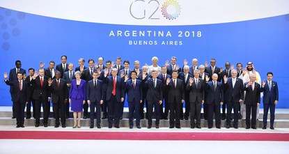 G20 leaders agree on trade, not quite on climate