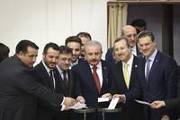 AK Party candidate Mustafa Şentop elected Parliament speaker