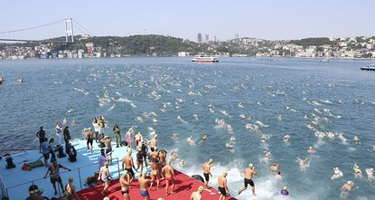 pThe 29supth/sup Samsung Bosporus Cross-Continental Swimming Race organized by the Turkish National Olympic Committee (TNOC) was held in Istanbul Sunday./p  pThis year's competition, which...