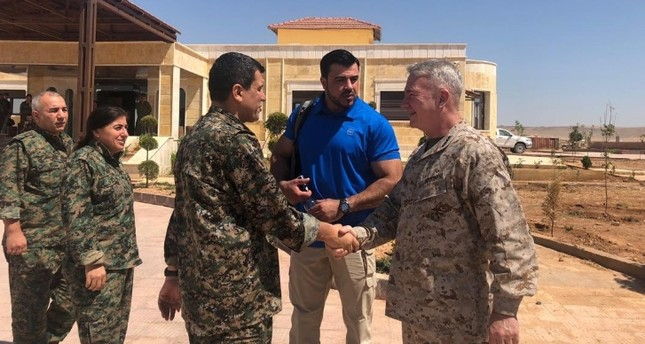 US general, envoy meet with top YPG terrorist in Syria