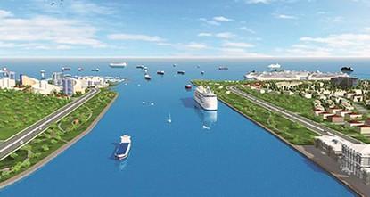 تركيا تطرح مناقصة مشروع قناة إسطنبول المائية قريبا